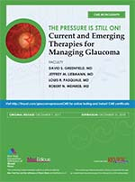 Current and Emerging Therapies for Managing Glaucoma
